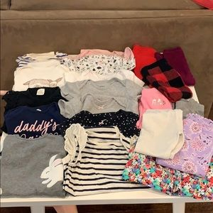 Huge lot toddler girl clothes 18-24month